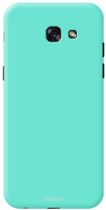 Deppa Air Case чехол для Samsung Galaxy A5 (2017), Mint83287Чехол Deppa Air Case для Samsung Galaxy A5 (2017) - случай редкого сочетания яркости и чувства меры. Это стильная и элегантная деталь вашего образа, которая всегда обращает на себя внимание среди множества вещей. Благодаря покрытию soft touch чехол невероятно приятен на ощупь, поэтому смартфон не хочется выпускать из рук. Ультратонкий чехол (толщиной 1 мм) повторяет контуры самого девайса, при этом готов принимать на себя удары - последствия непрерывного ритма городской жизни.