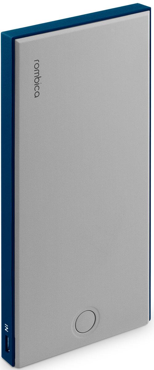 Rombica Neo NS100B внешний аккумуляторNS-00100BВнешний аккумулятор Rombica Neo NS100 заряжает большинство мобильных устройств: смартфоны, планшеты, плееры, цифровые камеры и многое другое. Легкий и компактный источник энергии у вас в кармане! Оборудован батареей большой емкости, что позволяет в условиях отдаленности от электрических сетей, продлить использование мобильных устройств. Множественная система защиты для безопасной зарядки устройств. В комплект входит войлочный чехол, который позволяет переносить и хранить внешний аккумулятор.