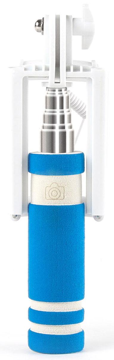 Rombica Smart Pod SP-11 монопод для селфиSPS-00110Ручной монопод Rombica Smart Pod SP-11 с удобной ручкой. Он будет незаменим во время прогулок и массовых мероприятий. Для управления имеется удобно расположенная кнопка на рукоятке. Подключается к смартфону через разъем 3,5 мм. В сложенном виде Rombica Smart Pod SP-11очень компактен и легко умещается в небольшой сумке и даже кармане. Ручка монопода имеет современный, эргономичный дизайн и выполнена из нескользящего материала.