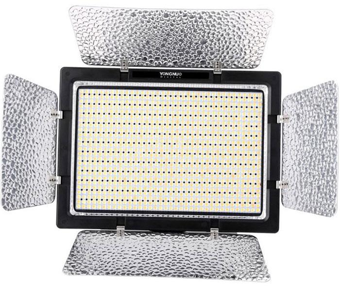 YongNuo YN-900 LED осветитель светодиодный для фото и видеокамер c БП с ду