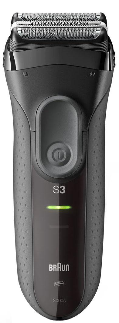 Электрическая бритва Braun Series 3 Shave&Style 3000BT черного Цвета 3-в-1 электрическая бритва braun series 3 300s красного цвета