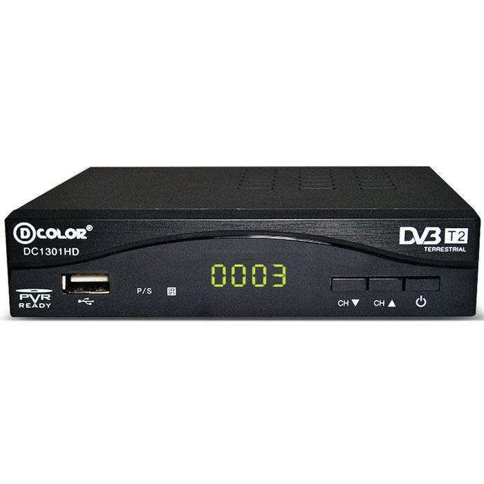D-Color DC1301HD DVB-T2 цифровой ТВ-тюнер - ТВ-ресиверы