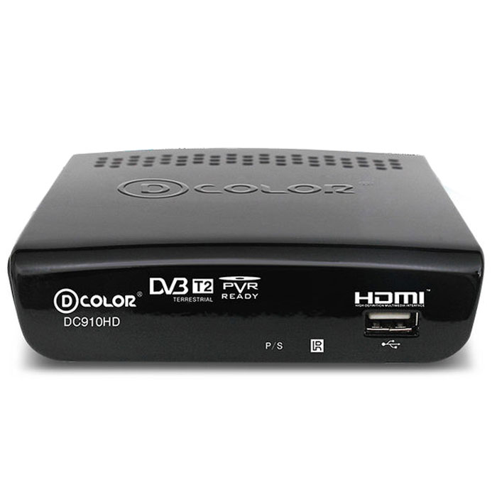 D-Color DC910HD DVB-T2 цифровой ТВ-тюнер - ТВ-ресиверы