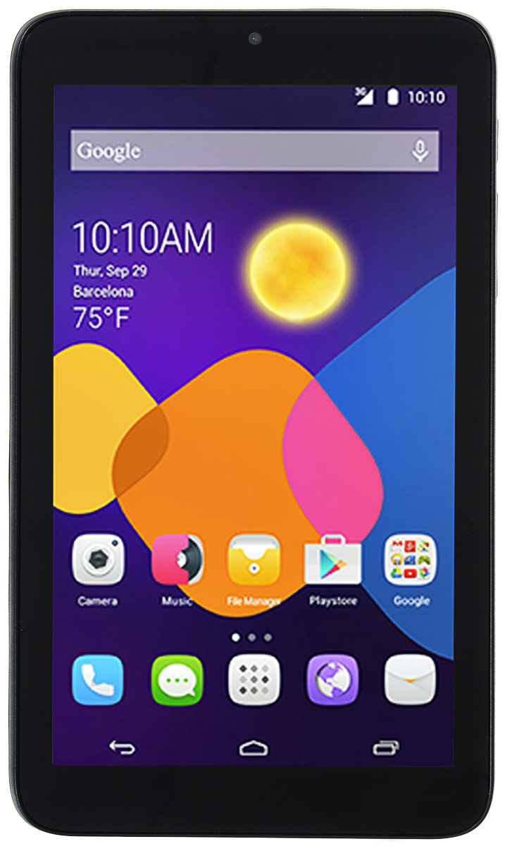 Alcatel I216X PIXI 7 3G, Black