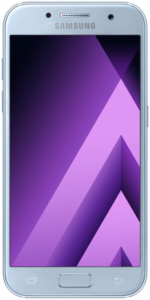 Samsung SM-A720F Galaxy A7 (2017), BlueSM-A720FZBDSERСовременный минималистичный корпус из 3D-стекла и металла, а также 5,7-дюймовый экран Full HD sAMOLED - все это отличительные черты Samsung Galaxy A7 (2017).Плавные линии корпуса, отсутствие выступов камеры, утонченная и элегантная отделка позволяют получить настоящее удовольствие от использования смартфона.Будьте законодателями трендов, а не просто следуйте им. Стильные цветовые решения идеально гармонируют с корпусом из стекла и металла, создавая динамичный и цельный образ. Четыре модных цвета на выбор превосходно дополнят ваш стиль.Запечатлите памятные моменты. Благодаря высокому разрешению основной камеры в 16 Mп фотографии всегда будут яркими и красочными.Вместе с Galaxy A7 (2017) почувствуйте себя профессиональным фотографом. Наличие широкого выбора фильтров позволяет подойти к процессу съемки более креативно. Теперь каждая фотография будет особенной.Идеальные селфи даже ночью. Где бы вы ни находились - на вечерней прогулке или в ночном клубе - ваши фотографии будут идеальными. Камера автоматически адаптируется даже к условиям недостаточной освещенности, а дисплей выполняет роль вспышки. Благодаря Smart-кнопке снимать селфи стало просто. Все, что нужно - выбрать расположение кнопки затвора на экране.Стандарт защиты от воды и пыли IP68 позволяет комфортно использовать смартфоны Galaxy A7 (2017) в любых условиях - будь то дождь или бассейн.Наслаждайтесь играми или просмотром видео еще дольше благодаря увеличенному объему аккумулятора.Разделяете работу и личную жизнь, удаляете старый контент, так как недостаточно памяти? Выбирайте то, что удобно вам: слот для 2-ой SIM-карты или карты памяти объемом до 256 ГБ.С функцией Always On Display вся актуальная информация всегда на экране. Просматривайте время, события в календаре и непрочитанные уведомления даже если смартфон находится в спящем режиме.Храните конфиденциальную информацию в защищенной папке. Благодаря безопасной среде KNOX вы можете быть уверены, что ваша