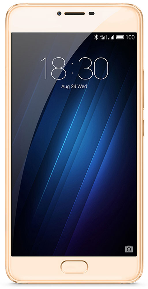 Meizu U20 32GB, Gold смартфон meizu u20 32 gb rose gold white