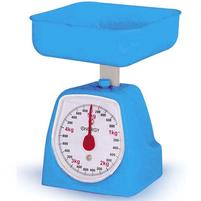 Energy EN-406МК, Blue кухонные весы54 159672Energy EN-406МК - механические кухонные весы с надежным механизмом. Данная модель имеет чашу квадратной формы для максимально удобного процесса взвешивания. Это простой и быстрый способ проверить вес продуктов и других товаров.