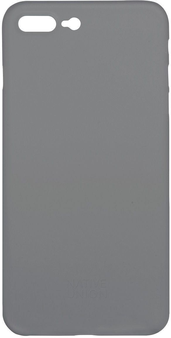 Native Union Clic Air чехол для iPhone 7 Plus, GreyCLIC-SMO-AIR-7PУльтра-тонкий и легкий Native Union Clic Air идеально подстраивается под iPhone 7 Plus, практически не увеличивая его в размерах. Air имеет толщину 0.3 мм. Имеется свободный доступ ко всем разъемам и кнопкам устройства.