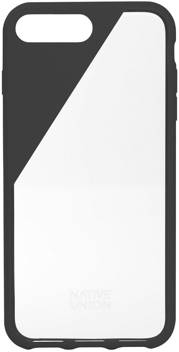 Native Union Clic Crystal чехол для iPhone 7 Plus, GreyCLICCRL-SMO-7PЧехол Native Union Clic Crystal идеально подстраивается под iPhone 7 Plus, практически не увеличивая его в размерах. Выполнен из ударопоглощающих полимеров, защищающих от падений. Выступающая рамка по бокам экрана обеспечит его целостность. Имеется свободный доступ ко всем разъемам и кнопкам устройства. Чехол Native Union Clic Crystal сохраняет оригинальный стиль iPhone. Основным элементом задней панели выступает прочный и прозрачный поликарбонат, оставляющий лидерство дизайна за металлическим корпусом iPhone. Тем не менее, стиль Native Union всё равно легко узнается благодаря отличительному, резкому скосу эластичного бампера.