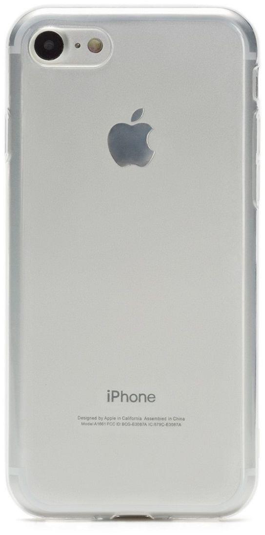 uBear Soft Tone Case чехол для iPhone 7 Black Onyx, ClearCS18TT01-I7Чехол uBear Soft Tone Case для для iPhone 7 Black Onyx выполнен из мягкого силикона с Anti-scratch покрытием от царапин. Благодаря Anti-slip покрытию чехол не скользит в руках. Легкий утонченный дизайн, подчеркивающий красоту смартфона. Безупречная защита вашего устройства. Чехол обеспечивает свободный доступ ко всем функциональным кнопкам и разъемам смартфона.