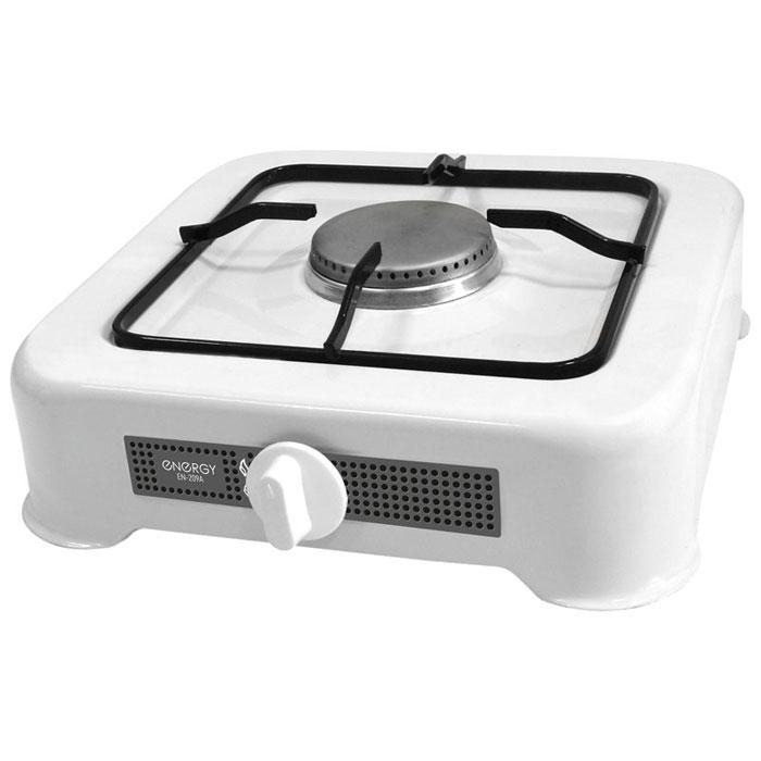 Energy EN-209A, White настольная плита54 144032Energy EN-209A - сверхкомпактная настольная плита, которая работает на сжиженном нефтяном газе. Благодаря своим габаритам, данная модель отлично подойдет для маленькой кухни на даче. Она изготовлена из качественных материалов и прослужит вам долгое время.Давление газа: 2800 PaМощность: 3200 Вт