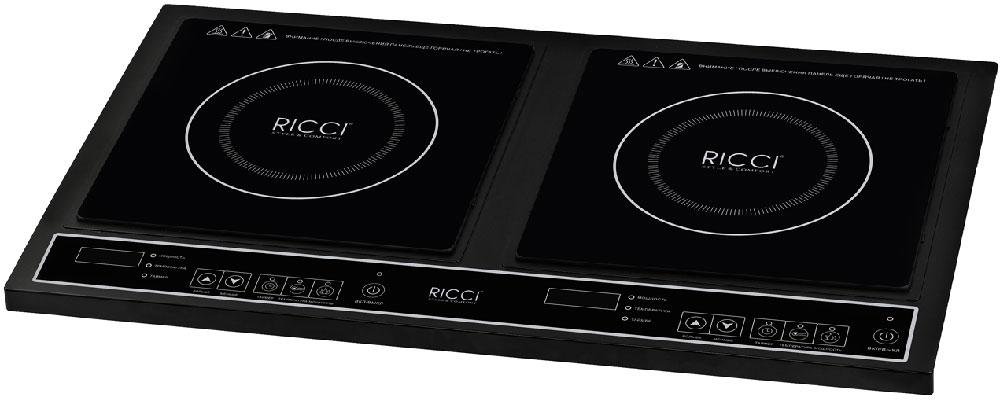 Ricci JDL-C30A2, Black индукционная настольная плита17 JDL-C30A2Ricci JDL-C20A15 - это компактная 2-конфорочная настольная плита, которая идеально подойдет для тех, кто ценит минимализм в интерьере. Она отличается высокой надежностью и качеством сборки. На такой плите вы с легкостью сможете приготовить любимые горячие блюда для всей семьи.Цифровой дисплейПлавная регулировка мощности2 LED дисплеяТаймер, светодиодный дисплей (0-180 минут)Прочное стеклоBlack Crystal