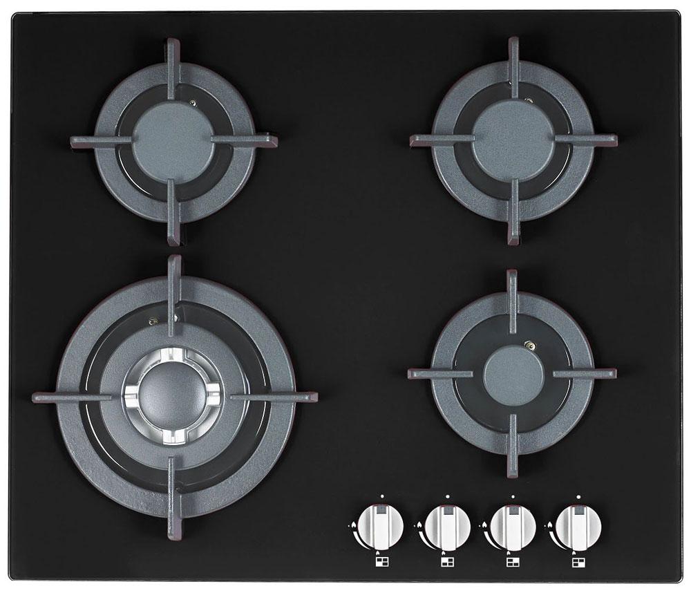 Ricci RGH-6042-2, Black варочная панель - Варочные панели