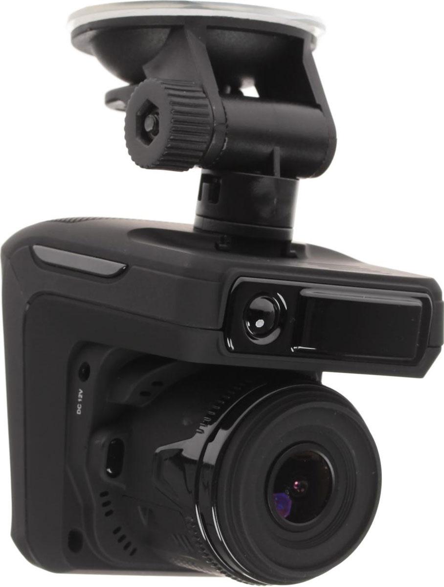 Sho-Me Combo №3 A7, Black видеорегистратор с радар-детекторомCOMBO №3-А7Видеорегистратор с антирадаром Combo №3 A7 - это уникальная комбинация самых важных для автомобилиста функций – запись происходящего на видео в высоком качестве (Full HD) и оповещение о сигналах полицейских радаров, принятых антенной и/или определяемых с помощью GPS.Благодаря своим компактным размерам, комбо-видеорегистратор Combo №3 A7 будет гармонично смотреться в салоне любого автомобиля, при этом не препятствуя обзору водителя.Камера видеорегистратора с широким углом обзора 140° захватывает соседние и встречные полосы движения, номера движущихся вокруг Вас автомобилей, а также сигналы светофора. Такой круг обзора позволит разрешить сложные спорные ситуации и предоставит видео отличного качества с места событий.Яркий дисплей диагональю 2,4 с высоким разрешением позволит вам с комфортомпросматривать отснятые видеоролике на самом видеорегистраторе, разглядеть все детали или c удобством управлять настройкой видеорегистратора.Высокочувствительные радар-детекторы Combo №3 A7 имеют встроенный дополнительный модуль,который позволяет уверенно обнаруживать комплекс Стрелка. Теперь штрафов в вашей жизни будет меньше, а удовольствия от езды за рулём больше!Функция голосового оповещения доступно и понятно оповещает водителя о приближении к системам контроля скорости. Данная система позволяет водителю не отвлекаться от дорожного движения и своевременно получать важную информацию о дорожной ситуации, тем самым повышая безопасность на дороге.Штамп даты и времени в кадре. Это позволяет установить дату и время в файле видеозаписи, а также добавить номер своего автомобиля. Наличие этой информации может быть актуальным при судебном разбирательстве и стать частью доказательной базы истца.Внимание! Кнопки вкл/выкл на устройстве нет, прибор включается автоматически при подаче питания. Кнопки, расположенные у объектива устройства, выполняют исключительно декоративную функцию, они не активные, просьба их не нажимать
