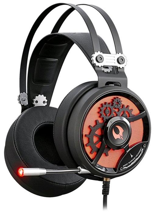A4Tech Bloody M660, Black Red игровые наушники4711421925730Гарнитура A4Tech Bloody M660 изготовлена из высококачественных материалов, которые обеспечивают наибольший комфорт пользователю даже после длительного использования. Металлический коннектор гарантирует долговечность устройства. А благодаря элегантному дизайну даже самые требовательные игроки будут в восторге.Двухкамерная технология акустической обработки обеспечивает глубокий резонирующий бас и кристально четкие высокие и средние частоты (в диапазоне от 20 Гц до 20 КГц). Это создает реалистичное ощущение объемного звука и позволяет вам в полной мере насладиться игровым процессом.Инновационная технология M.O.C.I. (Mycelium of Carbon IT) - революционная двухъядерная полнодиапазонная мембрана диаметром 40 мм наушников изготовлена из наномицелия и углеродных волокон. Это первая в своем роде аудиогарнитура, которая позволяет услышать оригинальный звук без его искажения.Двухъядерная мембрана обеспечивает кристально четкие высокие и средние частоты, а также глубокий резонирующий бас. Одноядерная мембрана не может обеспечить наилучшие высокие, средние и низкие частоты.Гарнитура специально разработана таким образом, чтобы предотвратить головную боль при длительном ношении. Двухъядерная полнодиапазонная мембрана создана из тончайшего материала, что позволяет вашим ушам дышать.Полностью регулируемый передовой микрофон обеспечивает кристально чистую голосовую связь во время игры, предоставляя вам максимальный контроль в игровой среде.Эргономичный дизайн обеспечивает максимальный комфорт, идеально подходит для долгих игровых сессий.Бескислородные медные нити изготовлены из эко-материала TPE. Кабель оптимизирован под любое окружение и выдерживает натяжение с силой 20 кг.Модель A4Tech Bloody M660 оснащена микрофоном, имеющим тип крепежа слайдер. Благодаря наличию регулятора громкости можно будет по собственному усмотрению задавать степень громкости звуков, воспроизводимых через наушники.