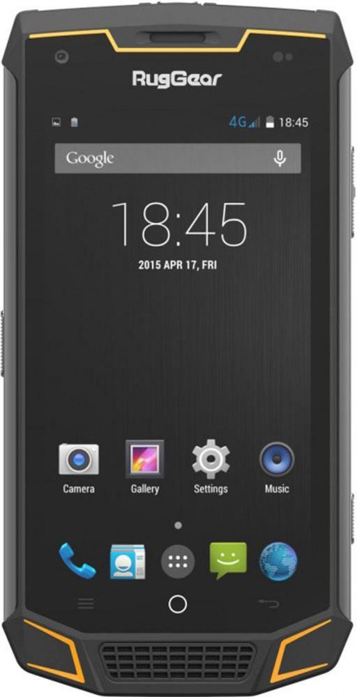 RugGear RG740, Black YellowRG740Благодаря современному дизайну и надежной конструкции новая модель телефона RugGear RG740 из линейки смартфонов на базе Android 5.1 идеально подходит всем: жителям больших городов, любителям отдыха на природе, заядлым путешественникам, фанатам экстремального спорта, а также профессионалам, работающим на сложных производствах и в суровых природных условиях.RugGear RG740 сочетает в себе высокую производительность, функциональность и новейшие технологии, облаченные в ударостойкий и водонепроницаемый корпус – и это наглядное доказательство того, что изящество, интеллект и прочность могут легко сочетаться в одном мобильном устройстве! Модель обладает исключительным по мощности аккумулятором - 3950 мАч!Это позволяет смартфону работать до 208 часов в режиме ожидания и до 8 часов в режиме разговора.Модель также впечатляет своим дизайном: очень тонкий, изящный, и тем не менее, супер-прочный корпус; элегантные вставки желтого цвета, которые обрамляют большой экран; приятная на ощупь задняя панель с фактурной отделкой под натуральную кожу - все это очень выделяет данную модель среди других защищенных смартфонов.Телефон сертифицирован EAC и имеет русифицированный интерфейс меню и Руководство пользователя.