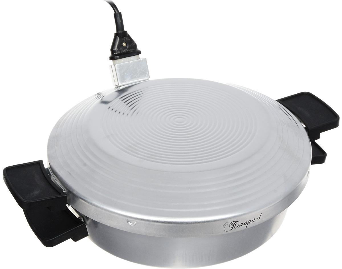 Великие реки Печора-1 печь-сковородаПечора-1Печь-сковорода Великие реки Печора-1 станет для вас удобным и надежным помощником на кухне, даче или во время туристического похода. Вы сможете приготовить любимые блюда везде, где нет газа, но есть электрическая сеть. Несмотря на существенные различия в источниках используемой для готовки энергии вам удастся приготовить абсолютно те же блюда, что и на газовой плите. Ей под силу жарка, тушение, запекание. Удобная форма с жаропрочной ручкой, безопасная конструкция, несомненно, придется по душе настоящей хозяйке.