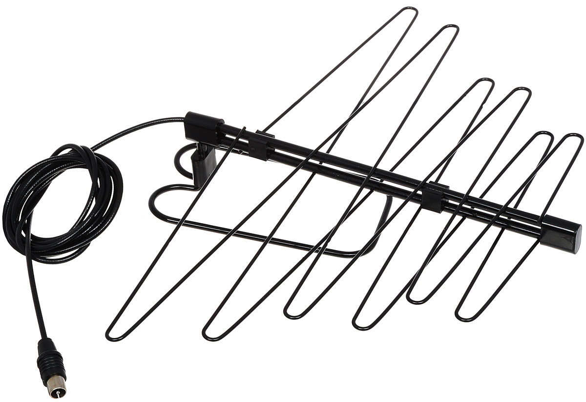 D-Color DCA-115 комнатная ТВ антенна (пассивная) denn daf106 black комнатная тв антенна