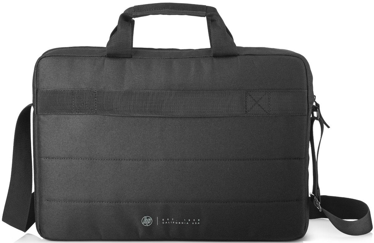 HP ValueTopload сумка для ноутбука 15.6, Black (T9B50AA)1000403101Защитите ноутбук в дороге! Практичная и стильная сумка HP ValueTopload, открывающаяся сверху, снабжена мягким отсеком для ноутбука, которая помогает защитить устройство от грязи, царапин и толчков.Зачем перегружать себя? Сумка с превосходным дизайном снабжена регулируемым мягким плечевым ремнем, удобным и снижающим нагрузку при движении.