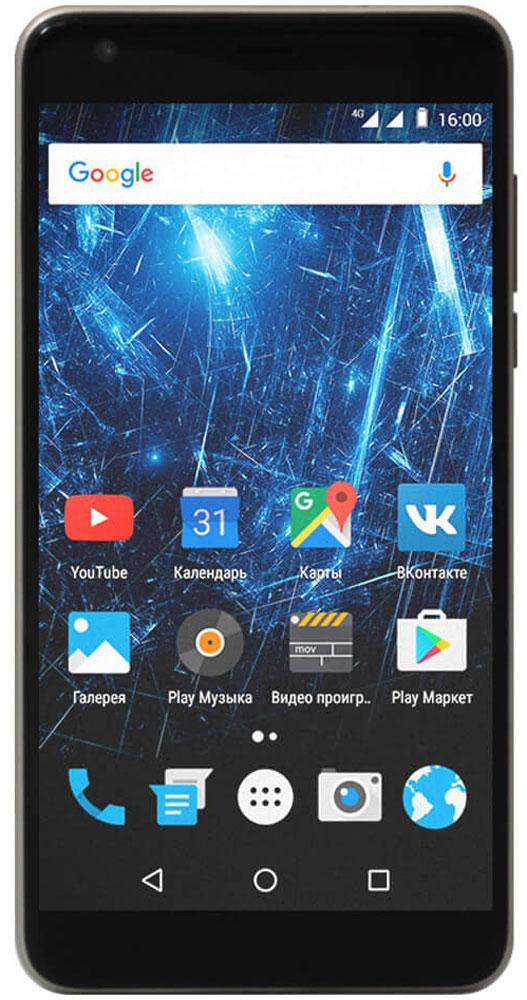 Highscreen Easy XL, Gold23851Highscreen Easy XL - простой и доступный смартфон с большим и ярким экраном, поддержкой 4G/LTE и ГЛОНАСС.Выбери свой Easy XL. Четыре дерзких цвета из которых ты точно выберешь свой. Матовый корпус имеет прекрасную эргономику и сбалансированные размеры.Оптимальный для контента. Яркий и контрастный 5.5 HD-экран, выполненный по технологии OnCell, обеспечивает естественную цветопередачу и моментальный отклик. Скругленные края (2.5D) помогают легче и быстрее взаимодействовать с ним.Easy XL работает на базе чистого Android Marshmallow, Highscreen преднамеренно не ставит дополнительные приложения и игры, чтобы не занимать лишнюю память и дать тебе свободу выбора.Правильная и точная навигация. Ощути всю прелесть точной навигации, ты сможешь точно определять свое местоположение и быстро прокладывать маршруты из точки A в точку B.Универсальный пульт управления. Ты сможешь управлять домашней техникой благодаря встроенному ИК-порту в твоем Easy XL, просто загрузив специальное приложение из Google Play.Телефон сертифицирован EAC и имеет русифицированный интерфейс меню и Руководство пользователя.