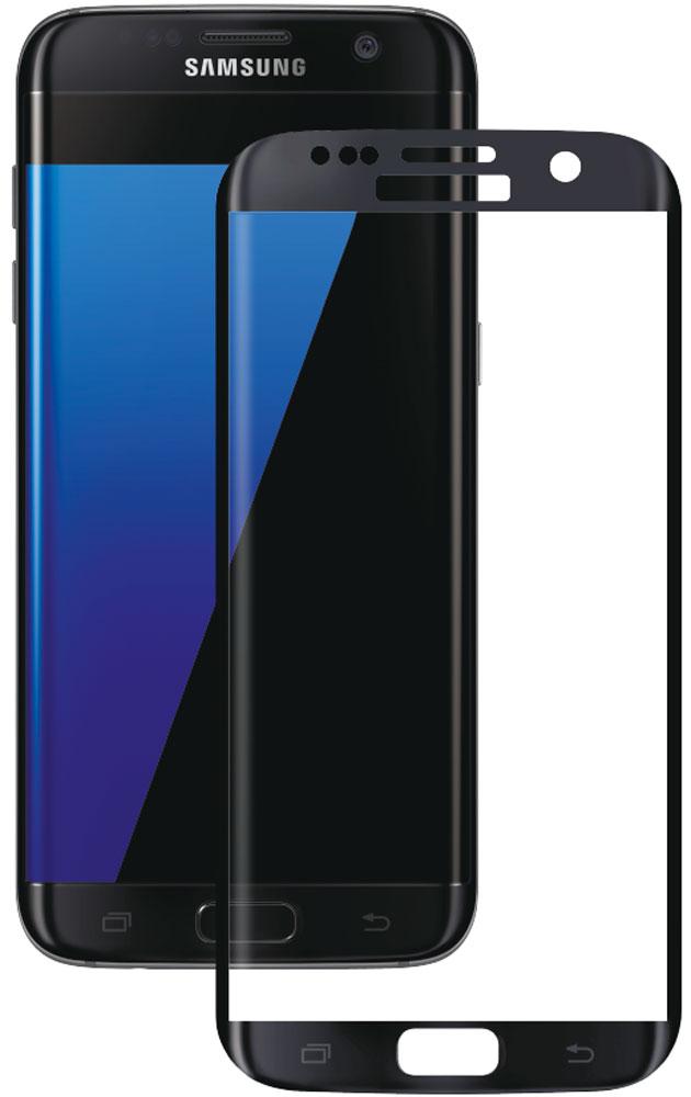 Deppa защитное стекло для Samsung Galaxy S7 Edge, Black (3D)62003Защитное 3D-стекло Deppa полностью повторяет форму дисплея Samsung Galaxy S7 Edge, обеспечивая его 100% покрытие. Скругленный край защищает боковые грани устройства, приятен на ощупь, создает ощущение целостности экрана. Стекло обладает всеми необходимыми свойствами для максимальной защиты экрана вашего устройства. Цвета 3D-стекла представлены в лаконичном стиле Samsung.