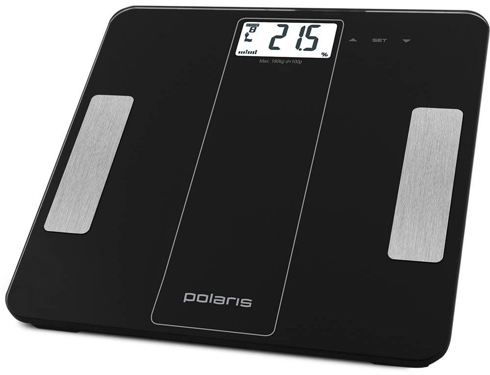Polaris PWS 1860DGF напольные весы7950Polaris PWS 1860DGF - напольные весы, выполненные в стильном дизайне. Одновременно с этим вас удивит и функциональность данного устройства: теперь вы легко сможете контролировать свой вес, процентное содержания жировой, мышечной, костной массы и воды в организме, а значит, вести здоровый образ жизни. Для вашего удобства в весах предусмотрена возможность с высокой точностью определять массу тела в килограммах и фунтах. Оснащены калькулятором дневной нормы потребления калорий.Максимально допустимый вес - 180 кг. Все данные отобразятся на удобном жидкокристаллическом дисплее. Для того, чтобы сохранить заряд батареи в весах используется функция автоматического отключения.