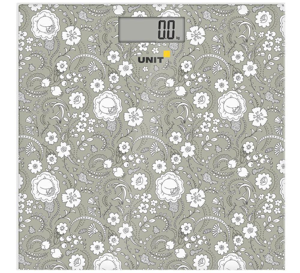 Unit UBS-2052, Dark Grey весы напольные unit ubs 2200 pale grey весы напольные