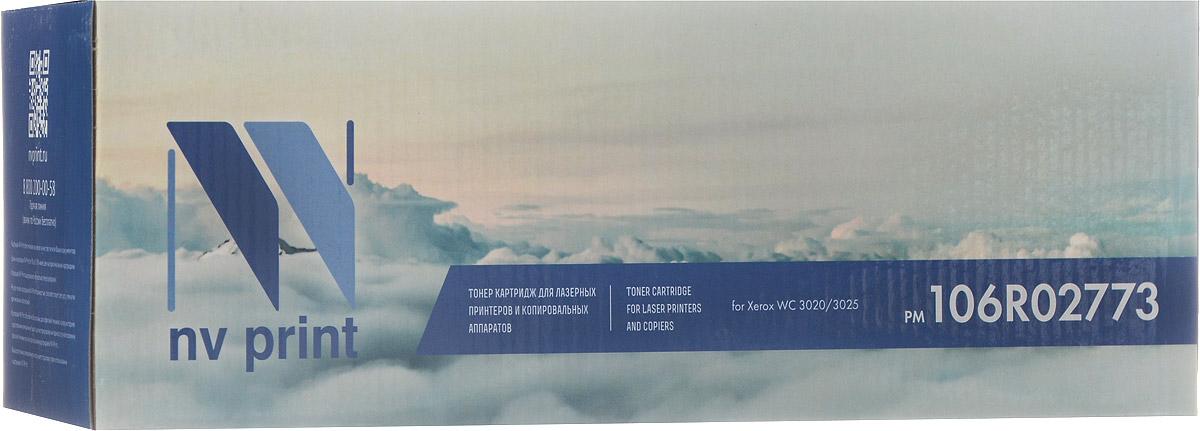 NV Print 106R02773, Black тонер-картридж для Xerox Phaser 3020/WorkCentre 3025