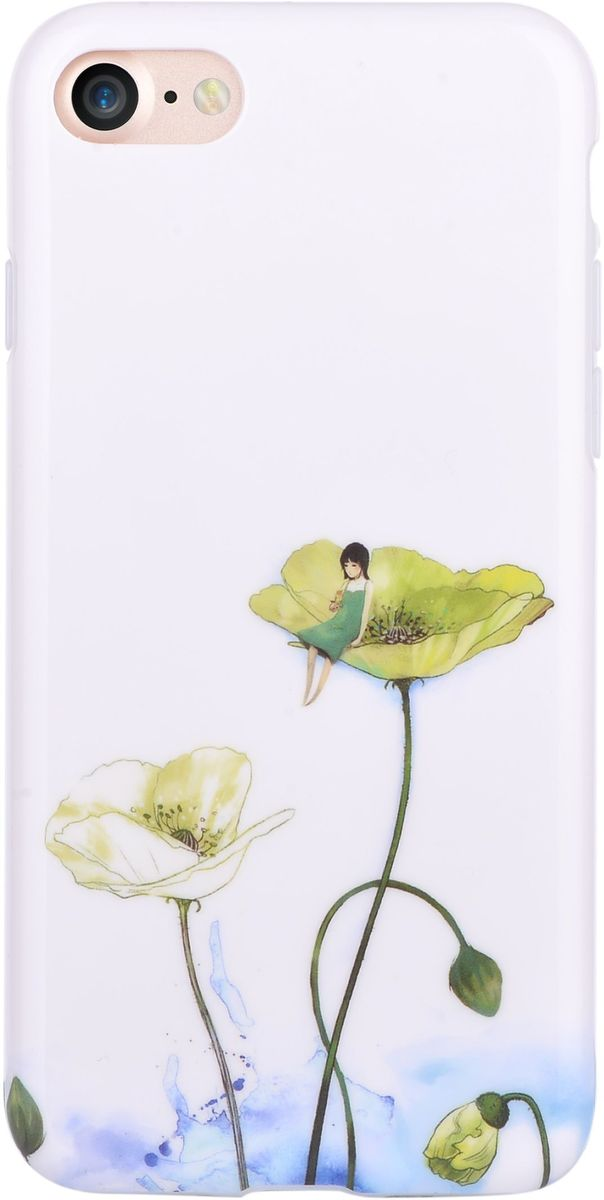 Devia Vivid Case Lotus чехол для iPhone 76952897994457Чехол Devia Vivid Case для Apple iPhone 7 надежно защищает ваш смартфон от внешних воздействий, грязи, пыли, брызг. Он также поможет при ударах и падениях, не позволив образоваться на корпусе царапинам и потертостям. Чехол обеспечивает свободный доступ ко всем функциональным кнопкам смартфона и камере. Чехол Devia Vivid Case - это стильная и элегантная деталь вашего образа, которая всегда обращает на себя внимание среди множества вещей.