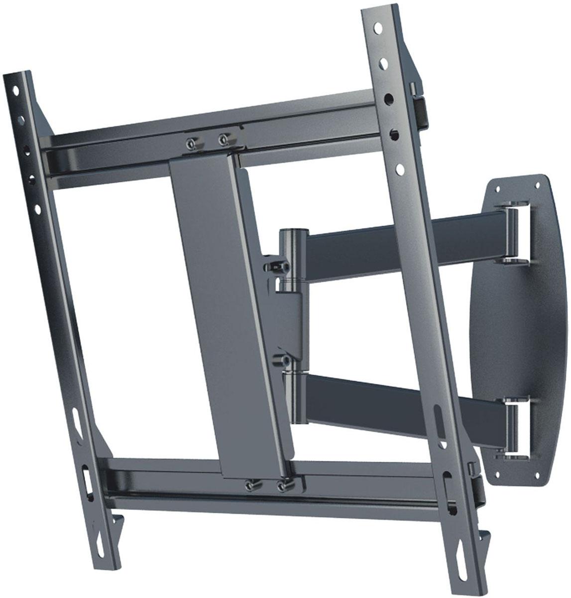 Mart 506S, Grey кронштейн для ТВ1255248Mart 506S - надежный кронштейн для вашего телевизора. Максимальная нагрузка составляет 50 кг, а угол наклона от 0 до 15°. Данный кронштейн поможет организовать пространство в гостиной или любой другой комнате. Ведь гораздо удобнее, когда телевизор установлен не на столе или тумбе, а на стене.