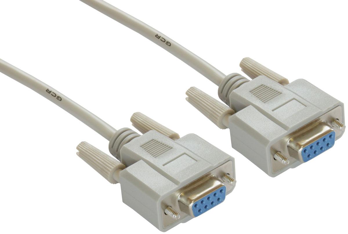 Greenconnect GCR-DB9CF2F кабель COM RS-232 (1,8 м)GCR-DB9CF2F-1.8mМодемный кабель Greenconnect GCR-DB9CF2F служит для подключения профессионального оборудования с интерфейсом RS-232.На сегодняшний день, кабель используется для подключения промышленного оборудования, подключения модемов, в системах АСУ ТП и для прошивки некоторых ресиверов.Бескислородная медь придает кабелю гибкость, и обладает хорошей проводимостью сигнала.Прочный экологичный материал изоляции ПВХ обеспечивает долгий срок службы.