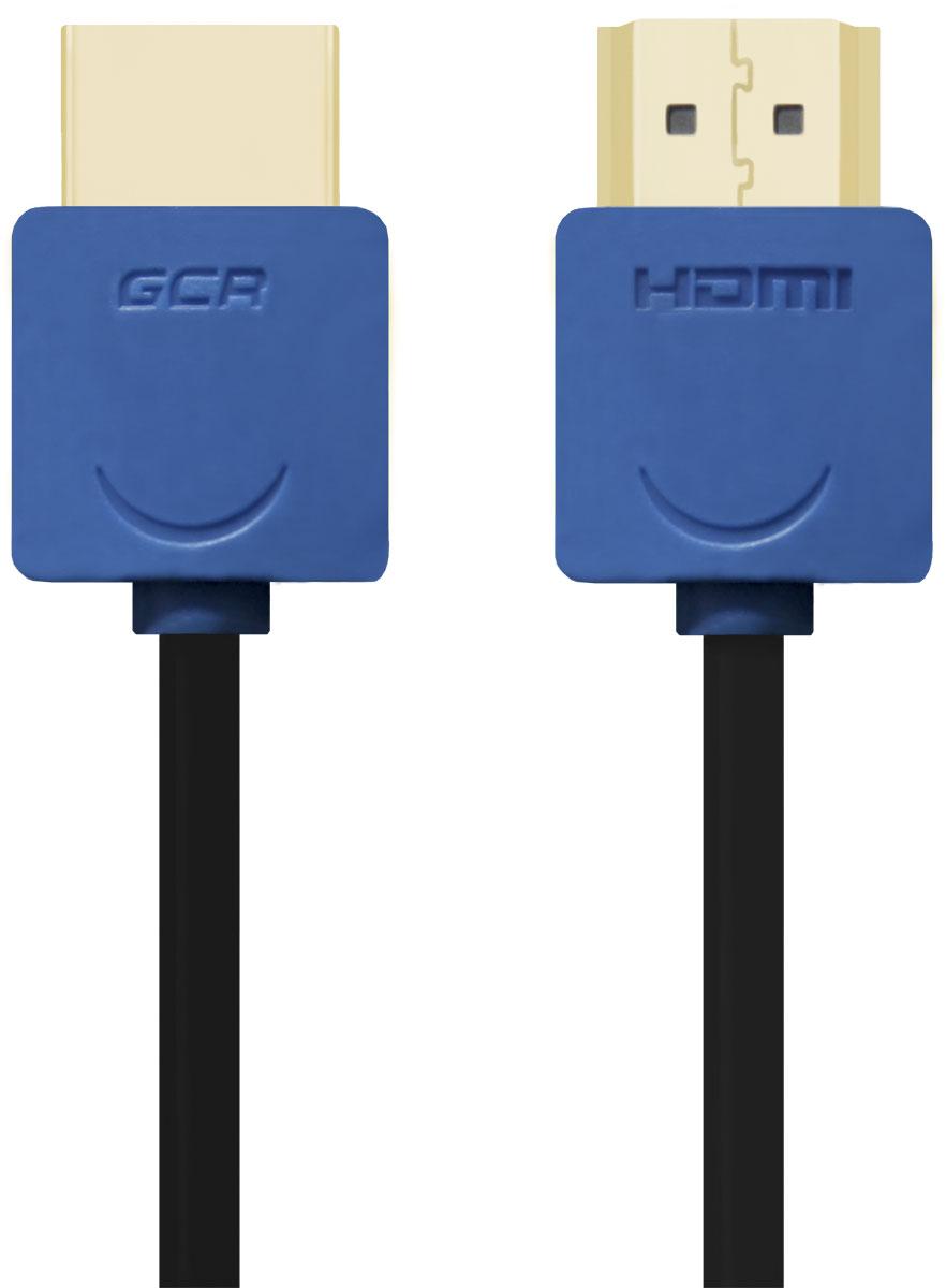 Greenconnect GCR-HM530 кабель HDMI (0,5 м)GCR-HM530-0.5mКабель HDMI v 1.4 Greenconnect GCR-HM530 - отличное решение для подключения компьютера, игровых консолей, DVD и Blu-ray плееров, аудио-ресиверов к телевизору или дополнительному монитору. Кабель HDMI поддерживает как стандартные, так и высокие разрешения самых современных моделей телевизоров.Greenconnect GCR-HM530 поддерживает 4K, Full HD и HD разрешения. Это даёт возможность наслаждаться более точной и естественной картинкой с высочайшим уровнем детализации и диапазоном цветов. Использование кабеля позволяет передавать изображение в столь популярном формате 3D, усиливая элемент присутствия и позволяя получать удовольствие от качественного объёмного изображения.Кабель оснащен двунаправленным каналом для передачи сетевых данных, который подходит для использования IP-приложениями. Канал Ethernet позволяет нескольким устройствам работать в сети Ethernet без необходимости подключения дополнительных проводов, а также напрямую обмениваться контентом. Наличие обратного канала аудио устраняет необходимость в отдельном проводе для передачи звука в ресивер с телевизора или другого устройства, которое является одновременно источником аудио и видео.Максимальная скорость передачи данных по HDMI кабелю Greenconnect GCR-HM530 до 10,2 Гбит/с. Высокая скорость обеспечивает передачу больших объёмов данных за кратчайшее время. Позволяет передавать данные в онлайн режиме без потери качества. Экранирование кабеля защищает сигнал при передаче от влияния внешних полей, способных создать помехи.