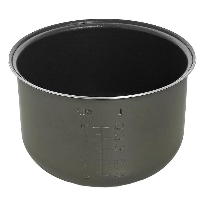 Polaris PIP 0501 чаша для мультиварок с антипригарным покрытием004806Внутренняя чаша с антипригарным покрытием и системой равномерного нагрева Polaris PIP 0501 для различных мультиварок.Двухслойное антипригарное покрытие WhitfordМерная шкалаДиаметр с ободком 24 смГлубина (по внутренней стенке) 14 см