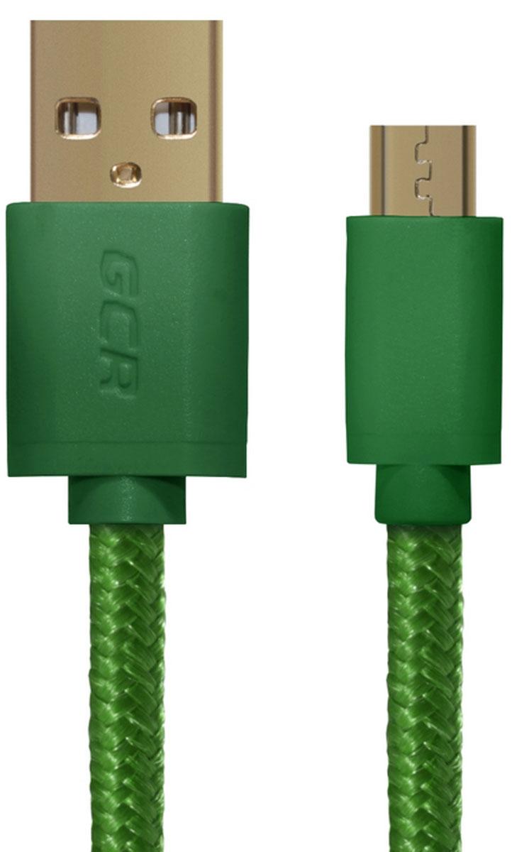 Greenconnect GCR-UA11MCB5-BB2SG кабель microUSB - USB (0,5 м)GCR-UA11MCB5-BB2SG-0.5mКабель Greenconnect GCR-UA11MCB5-BB2SG позволяет подключать мобильные устройства, которые имеют разъем microUSB к USB разъему компьютера. Подходит для повседневных задач, таких как синхронизация данных, зарядка устройства и передача файлов. Экранирование кабеля позволяет защитить сигнал при передаче от влияния внешних полей, способных создать помехи.