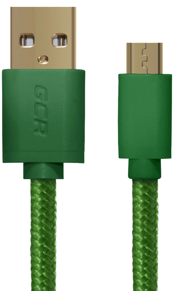 Greenconnect Russia GCR-UA11MCB5-BB2SG кабель microUSB-USB (1,8 м)GCR-UA11MCB5-BB2SG-1.8mКабель Greenconnect Russia GCR-UA11MCB5-BB2SG позволяет подключать мобильные устройства, которые имеют разъем microUSB к USB разъему компьютера. Подходит для повседневных задач, таких как синхронизация данных, зарядка устройства и передача файлов. Экранирование кабеля позволяет защитить сигнал при передаче от влияния внешних полей, способных создать помехи.