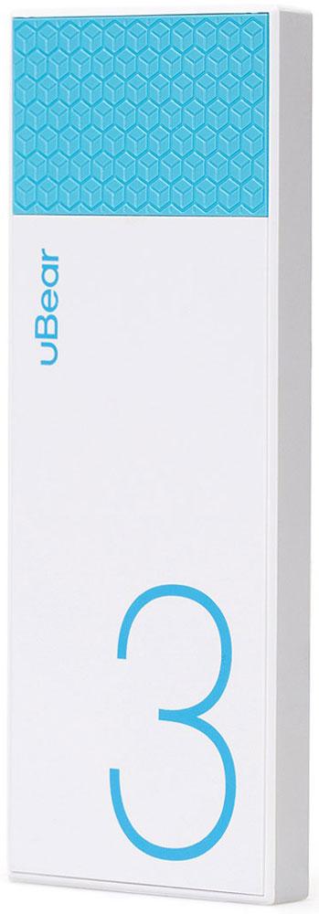 uBear Light 3000, White Light Blue внешний аккумуляторPB05LB3000-ADВнешний аккумулятор uBear Light 3000 покорит вас своим внешним видом с первого взгляда. Высококачественный пластик и невероятно тонкий дизайн. Аккумулятор прекрасно будет сочетаться с вашим смартфоном или планшетом, поддерживая их изящный стиль.Технические характеристики на высоте: LED-индикатор заряда, защита от короткого замыкания, перегрева, большое количество циклов перезарядки.