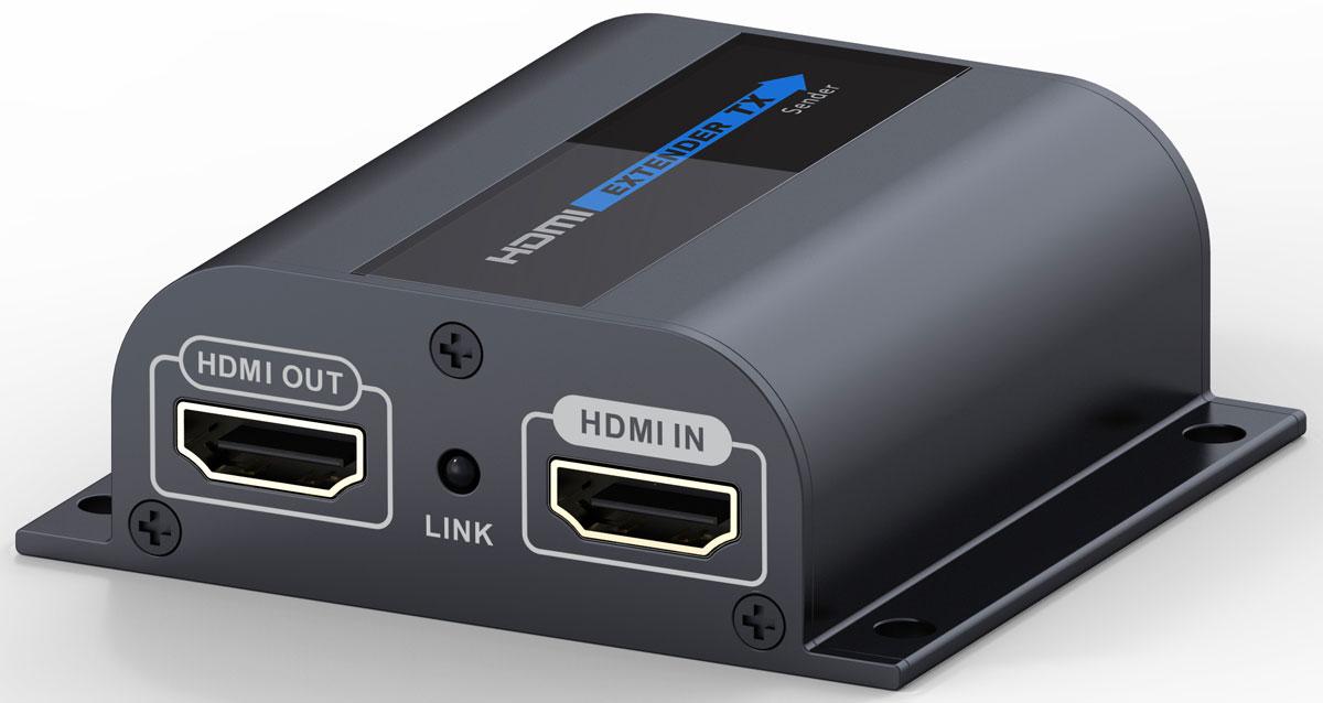 Greenconnect GL-372Pro удлинитель HDMIGL-372proУдлинитель HDMI по витой паре Greenconnect GL-372Pro предназначен для передачи цифрового видеосигнала высокого разрешения и многоканального звука между устройствами, оснащенными интерфейсом HDMI и расположенными на большом расстоянии друг от друга.Для передачи видео- и аудиосигнала используется сетевой кабель Ethernet Lan Cat6 (витая пара). Благодаря этому становится возможным осуществлять передачу на расстояние до 60 метров. При этом обязательно необходимо использовать сетевой кабель с медным проводником. Использование сетевых кабелей CCA не поддерживается устройством и не гарантирует корректную передачу видео и звука.Дополнительный выход HDMI на передающей стороне, для подключения основного дисплея. Это позволяет просматривать транслируемое видео и контролировать содержимое перед отображением его на удаленном экране.Соответствие стандарту HDMI v1.3 и поддержка передачи изображения с разрешением FullHD 1080p. Благодаря этому, картинка на экране будет превосходного качества.В корпусе имеются специальные отверстия для настенного монтажа. Это позволяет расположить удлинитель максимально удобно и там, где это необходимо.
