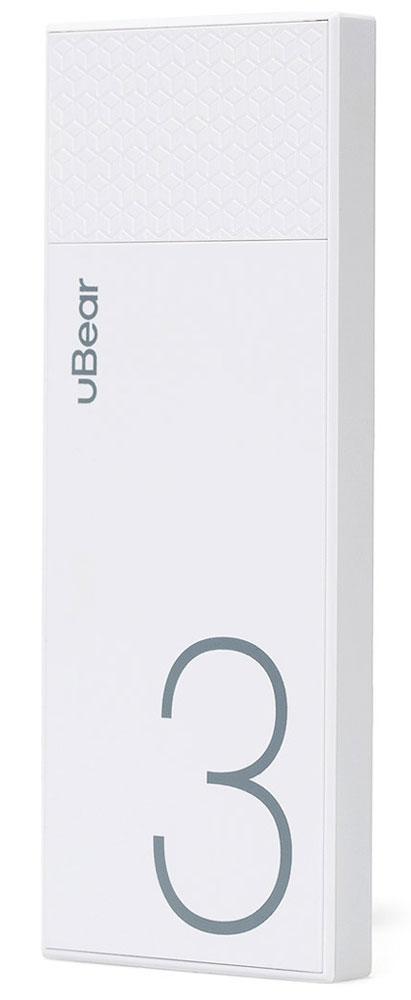 uBear Light 3000, White внешний аккумуляторPB05WH3000-ADВнешний аккумулятор uBear Light 3000 покорит вас своим внешним видом с первого взгляда. Высококачественный пластик и невероятно тонкий дизайн. Аккумулятор прекрасно будет сочетаться с вашим смартфоном или планшетом, поддерживая их изящный стиль.Технические характеристики на высоте: LED-индикатор заряда, защита от короткого замыкания, перегрева, большое количество циклов перезарядки.