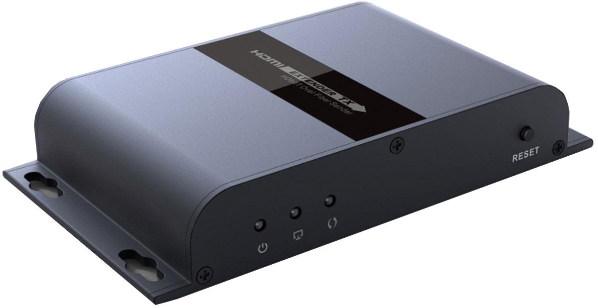Greenconnect GL-378A удлинитель HDMIGL-378AУдлинитель HDMI Greenconnect GL-378A предназначен для передачи цифрового видеосигнала высокого разрешения и многоканального звука между устройствами, оснащенными интерфейсом HDMI и расположенными на большом расстоянии друг от друга.Для передачи видео- и аудио-сигнала используется оптоволоконный кабель. Это позволяет осуществлять передачу на расстояние до 20 километров, а благодаря поддержке технологии HDBitT отсутствуют визуальные потери качества картинки и звука.Технология HDBitT обеспечивает поддержку передачи изображения с разрешением до FullHD 1080p. Благодаря этому, картинка на экране будет превосходного качества.В корпусе имеются специальные отверстия для настенного монтажа. Это позволяет расположить удлинитель максимально удобно и там, где это необходимо.