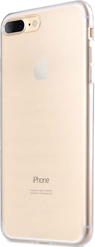 uBear Tone Case чехол для iPhone 7 Plus, ClearCS19TR01-I7PЧехол uBear Tone Case для для iPhone 7 Plus выполнен из твердого пластика толщиной 0,8 мм. Легкий утонченный дизайн подчеркивает красоту смартфона. Обеспечивает надежную защиту вашего устройства. Чехол обеспечивает свободный доступ ко всем функциональным кнопкам и разъемам смартфона.
