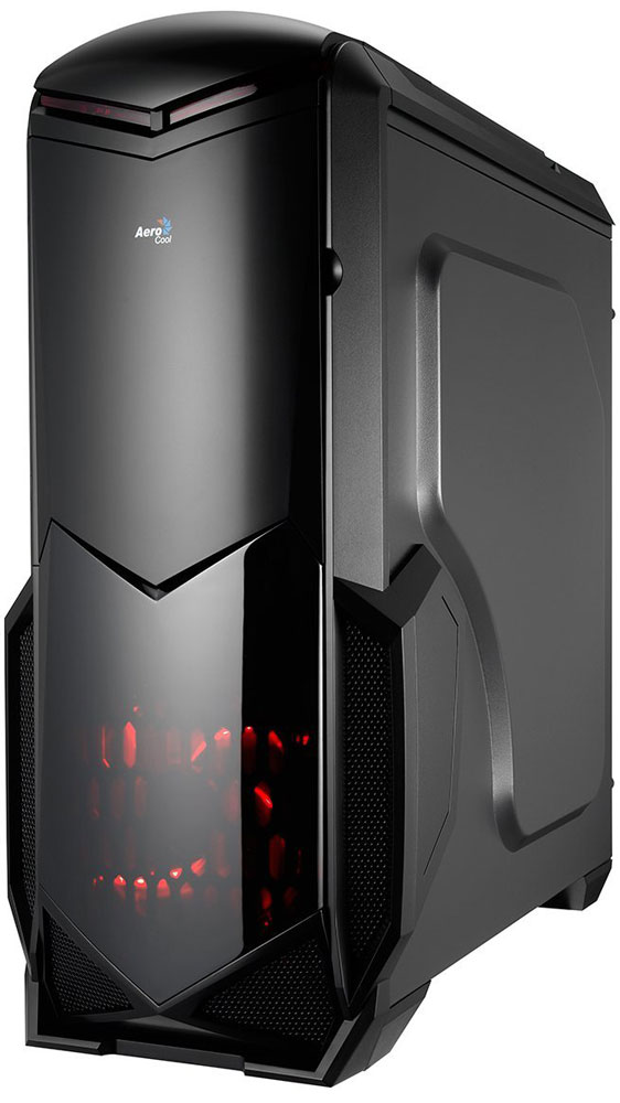 Aerocool BattleHawk, Black компьютерный корпус4713105955415Корпус Aerocool BattleHawk выполнен из панелей толщиной 0,5 мм и полностью окрашен изнутри в чёрный цвет.На передней панели имеет отсек для 5,25-дюймового оптического привода или панели управления вентиляторами, а также отсек для 3,25-дюймового FDD-привода или кард-ридера. Внутри корпуса располагаются 3 отсека для 3,5-дюймовых и 2 для 2,5-дюймовых накопителей. Поддерживаются системы охлаждения процессора высотой до 155 мм. В Aerocool BattleHawk можно установить high-end видеокарты длиной до 390 мм.
