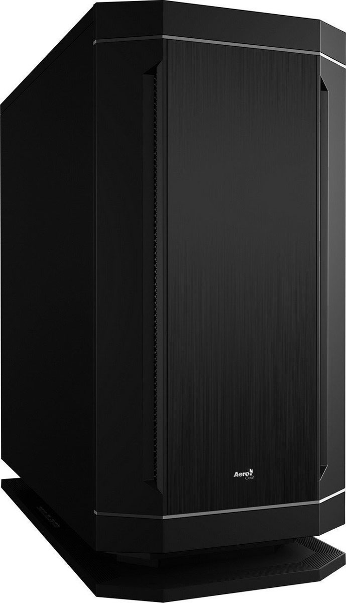 Aerocool DS 230, Black компьютерный корпус4713105958331Корпус Aerocool DS 230 выполнен из панелей толщиной 0,7 мм и полностью окрашен изнутри в чёрный цвет. Звукоизолирующие вставки в передней, верхней и боковых панелях корпуса поглощают шум от работы вентиляторов и комплектующих. Оснащен семицветной подсветкой работающей в трех режимах.Внутри корпуса располагаются 2 отсека для 3,5-дюймовых и 3 для 2,5-дюймовых накопителей. Поддерживаются системы охлаждения процессора высотой до 170 мм. В Aerocool DS 230 можно установить high-end видеокарты длиной до 388 мм.