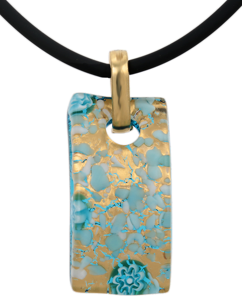 Кулон на шнурке Соблазн. Муранское стекло, шнурок из каучука, ручная работа. Murano, Италия (Венеция)39890|Колье (короткие одноярусные бусы)Кулон на шнурке Соблазн.Муранское стекло, шнурок из каучука, ручная работа.Murano, Италия (Венеция).Размер:Кулон - 4 х 2 см.Шнурок - полная длина 45 см.Каждое изделие из муранского стекла уникально и может незначительно отличаться от того, что вы видите на фотографии.