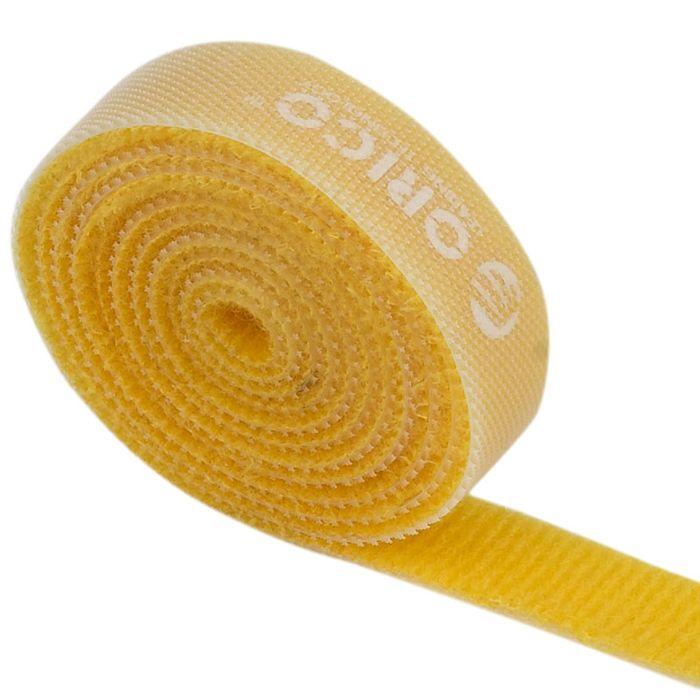 Orico CBT-1S, Orange стяжка для кабелейORICO CBT-1S-ORORICO CBT-1S поможет навести порядок среди кабелей как дома, так и в офисе. На одной стороне ORICO CBT-1S находится липучка, а на обратной - поверхность для липучки. Если стяжка окажется слишком длинной, то от неё можно отрезать всё лишнее. Оставшуюся часть можно также использовать для связывания кабелей. Общая длина стяжки составляет 1 метр. ORICO CBT-1S встречается в нескольких цветах: чёрном, оранжевом, жёлтом, красном и зелёном.