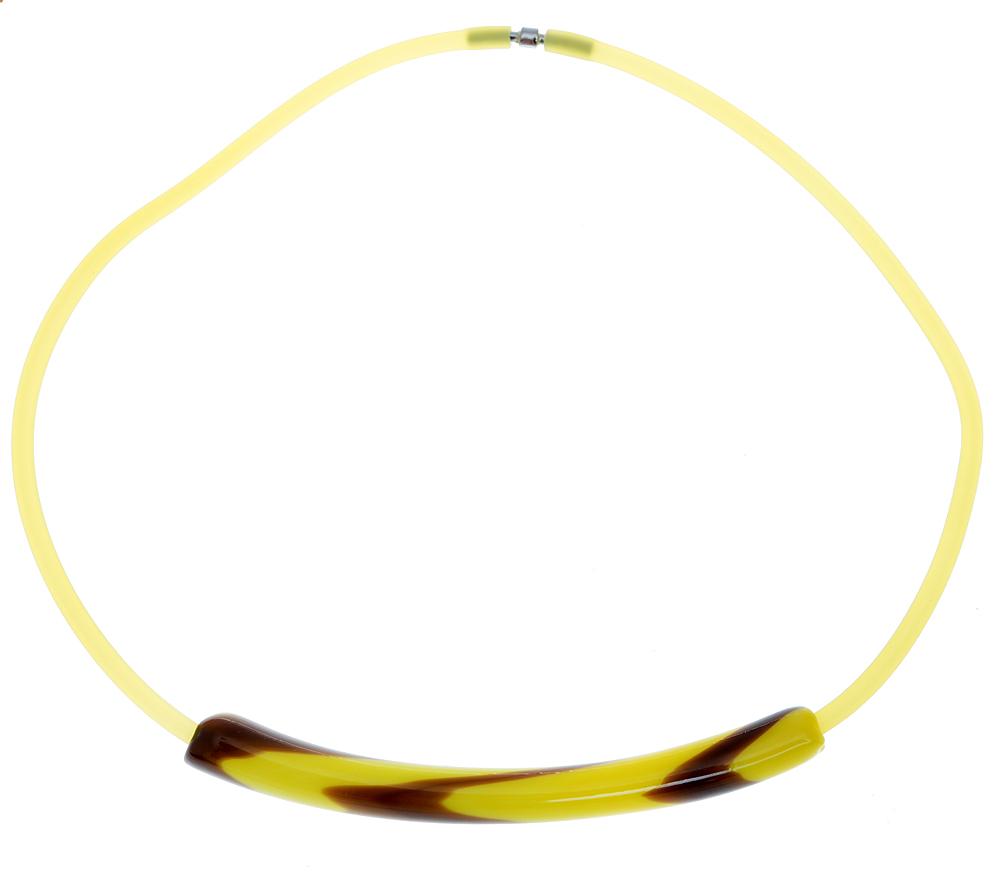 Колье Осень в Венеции. Муранское стекло, каучук желтого цвета, ручная работа. Murano, Италия (Венеция)Бусы-ниткаКолье Осень в Венеции.Муранское стекло, каучук желтого цвета, ручная работа.Murano, Италия (Венеция).Размер: полная длина 46 см.Каждое изделие из муранского стекла уникально и может незначительно отличаться от того, что вы видите на фотографии.