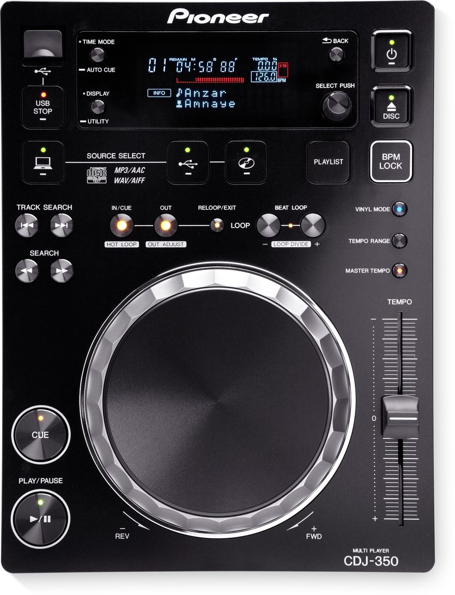 Pioneer CDJ-350 DJ проигрыватель
