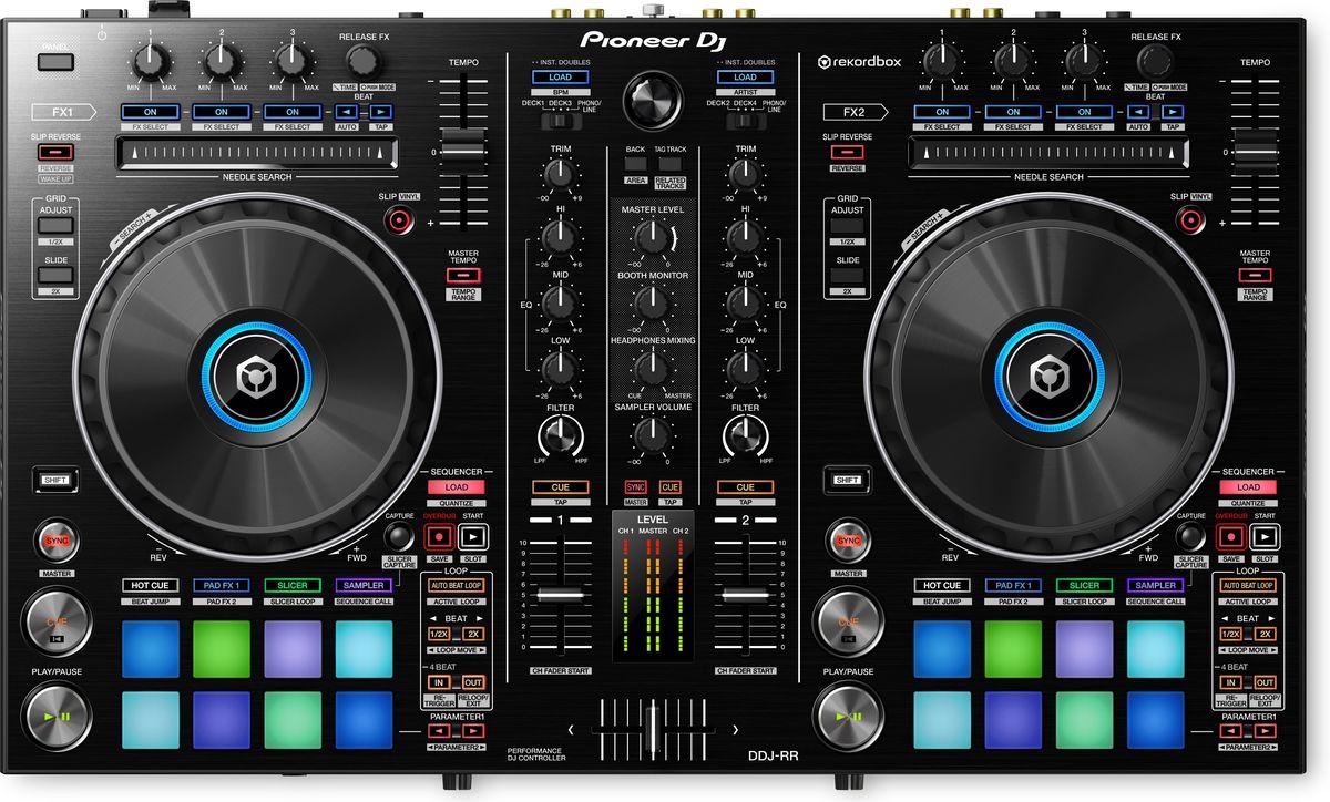 Pioneer DDJ-RR DJ контроллер среднего уровня