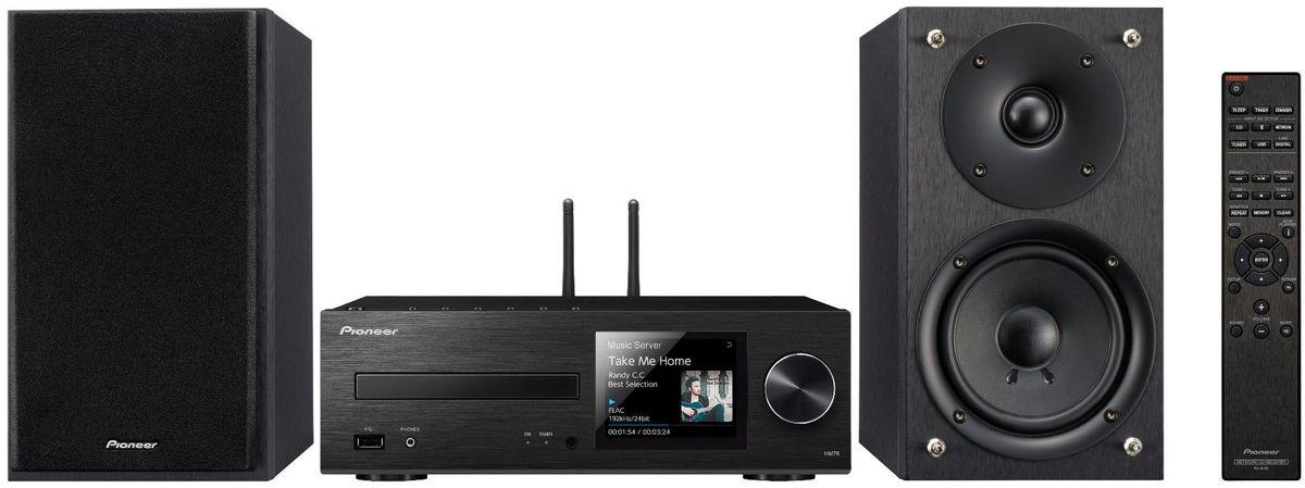 Pioneer X-HM76-B музыкальный центрX-HM76-B2х50Вт Class D.FM радио 40 станций.Функция усиление баса.CD/CD-R/RW (MP3 и WMA).USB (FLAC, DSD, AAC, WMA).Bluetooth/Wi-Fi.TIDAL, Dwwzer, TuneIn.Работает с Androis/iOS.Дисплей 3.5 .