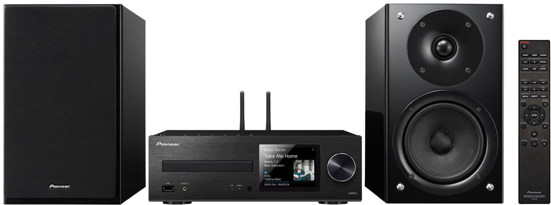 Pioneer X-HM86D-B музыкальный центрX-HM86D-B2х65Вт Class D.FM радио 40 станций.Функция усиление баса.CD/CD-R/RW (MP3 и WMA).USB (FLAC, DSD, AAC, WMA).Bluetooth/Wi-Fi.TIDAL, Dwwzer, TuneIn.Работает с Androis/iOS.Дисплей 3.5 .DAB интернет радио.