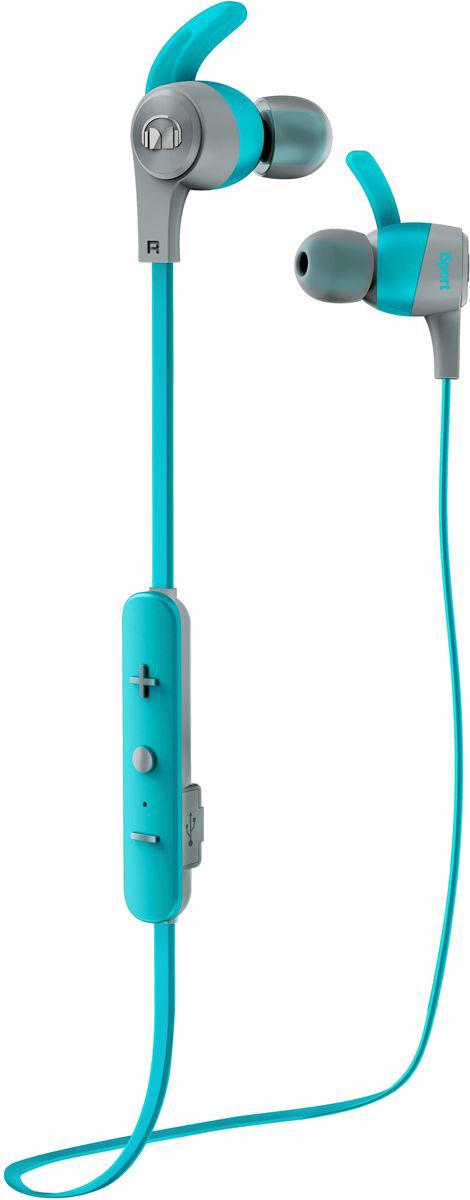 Monster iSport Achieve In-Ear Wireless, Blue наушники137090-00Вставные спортивные наушники iSport Achieve In-Ear Wireless с запатентованными технологиями Monster - лучшие в своем ценовом сегменте.Эксклюзивное крепление SecureFit от Monster позволяет наушникам оставаться на месте в течении самой подвижной тренировки в тренажерном зале. Высокая шумоизоляция позволит сосредоточиться на треках, а покрытие с защитой от пота добиться наибольшей интенсивности тренировок с максимальным комфортом.